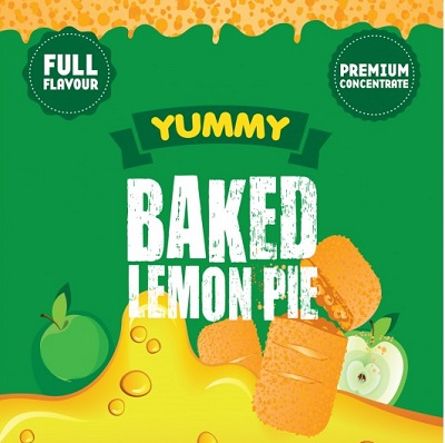 Big Mouth Baked Lemon Pie
