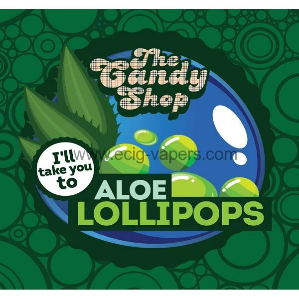 Big Mouth Candy- Aloe Lollipops