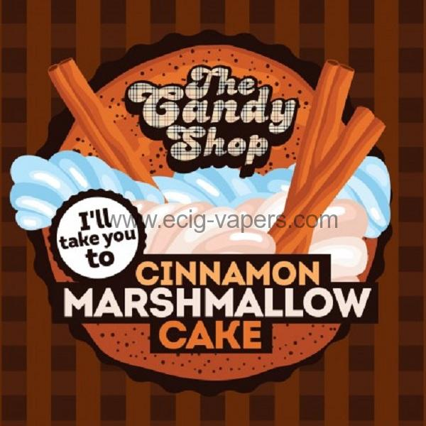 Big Mouth Candy- Cinnamon Marshmallow Cake