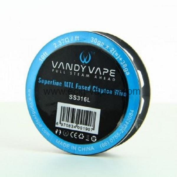 Vandy Vape- Superfine MTL Fused Clapton