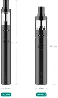 Eleaf iJust Start Plus 1600 mAh elektromos cigaretta Black