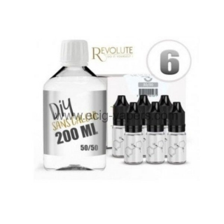 Revolute-Bázis alaplé 200ml- 50%pg-50%vg-boosterrel 6mg