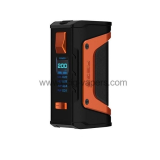 Geek Vape Aegis Legend TC 200w  Box Mod Orange Noir